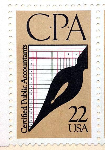 アメリカの万年筆デザイン切手