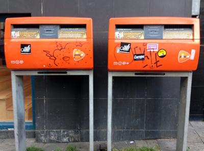 オランダのポスト