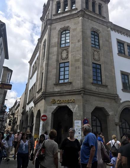スペインの郵便局